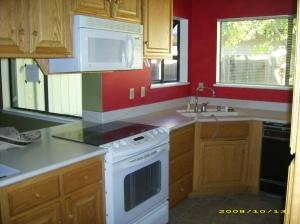 unflooded kitchen