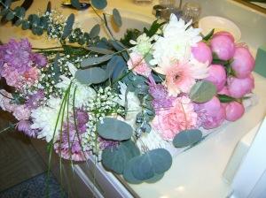 uncut flowers
