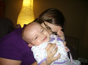 Mommy makes me giggle!
