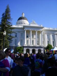 the CA Capitol