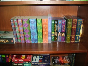 narnia and harry and tolkien? be still my heart!