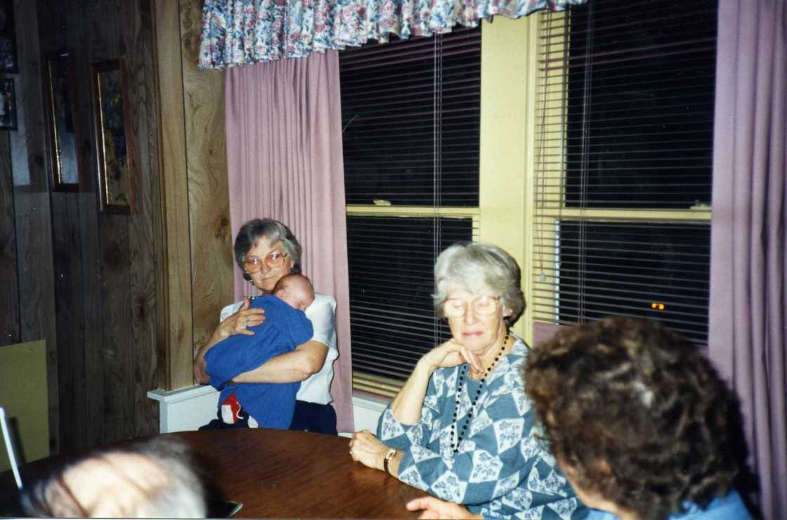 Thelma Truitt and Zech Thompson 1994