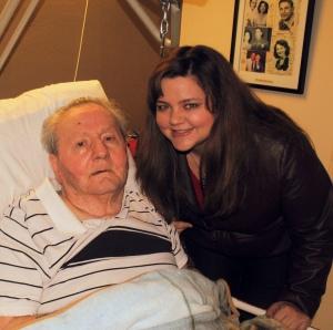 Grandpa and Kelly 2012