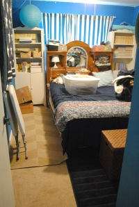cleaner guest room