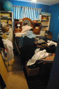 guest room mess