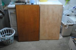 sanded doors