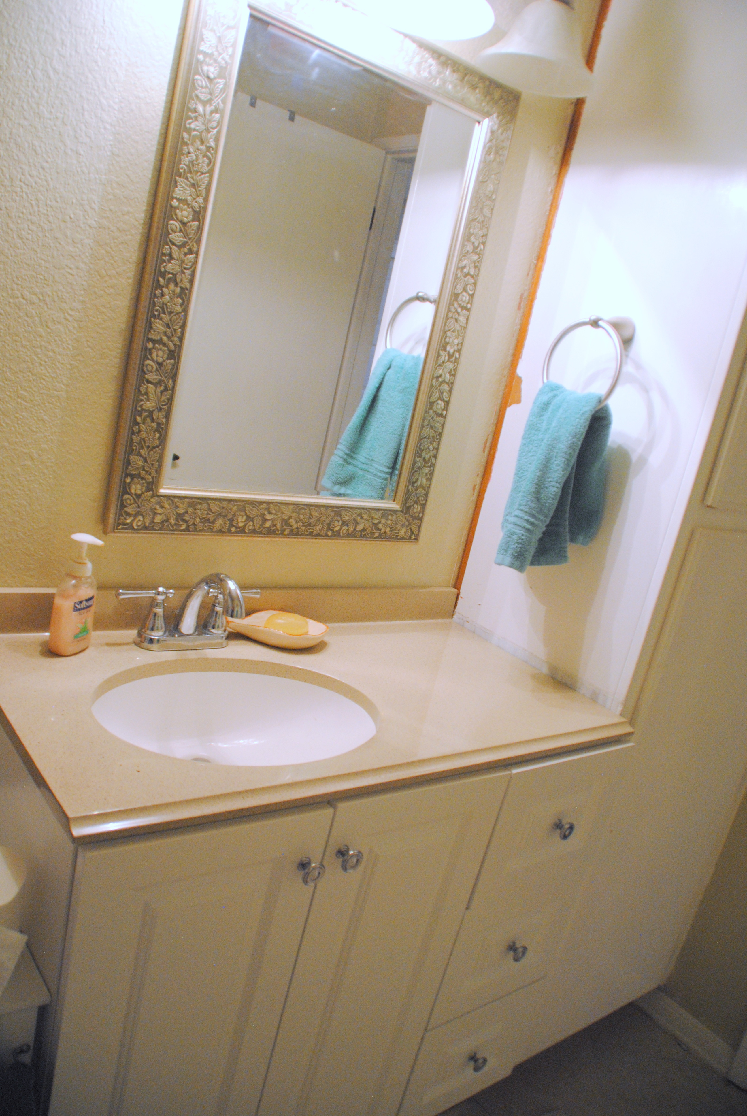 Updating the Guest Bath – My Friend Kelly